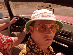 Microdosing LSD is nothing like Fear and Loathing in Las Vegas .