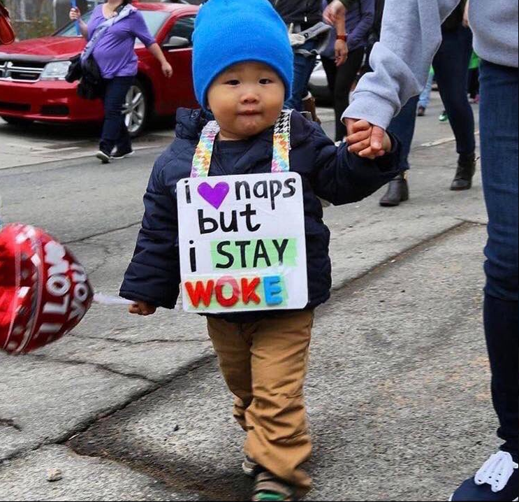 These 'Woke Babies' Were Everyone's Favorite Part of the Women's Marches