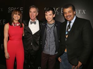 Carla Gugino, Bill Nye, Asa Butterfield, Neil deGrasse Tyson.