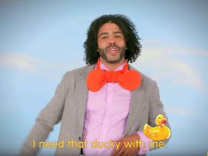 Daveed Diggs breaks down the Rubber Ducky song on Sesame Street.
