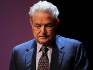 George Soros on August 19, 2010 in New York City.