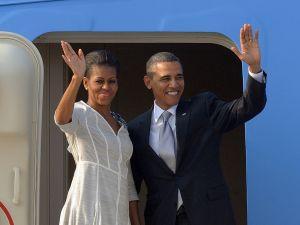 Barack Obama and Michelle Obama are off to Necker Island.