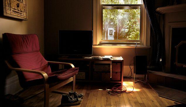 Untidy apartment
