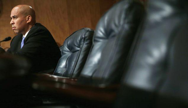 U.S. Sen. Cory Booker on Capitol Hill in Washington, DC.