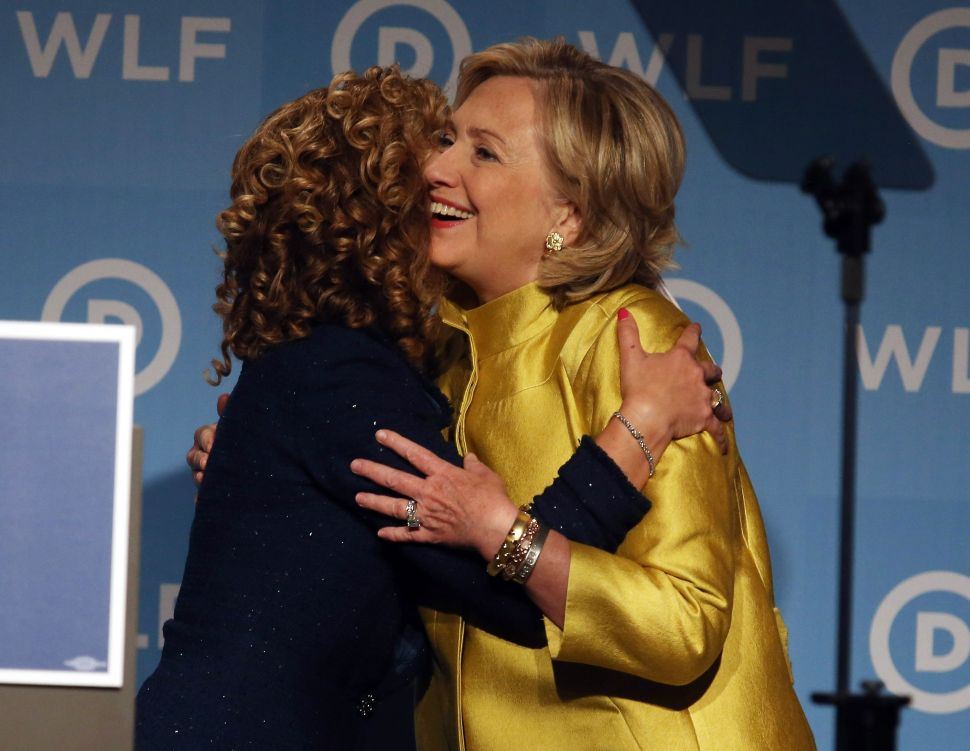 The Return of Hillary Clinton and Debbie Wasserman Schultz