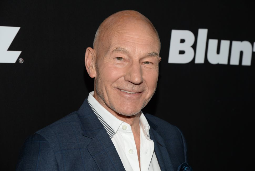 Sir Patrick Stewart Set to Play an Actual Piece of Poop