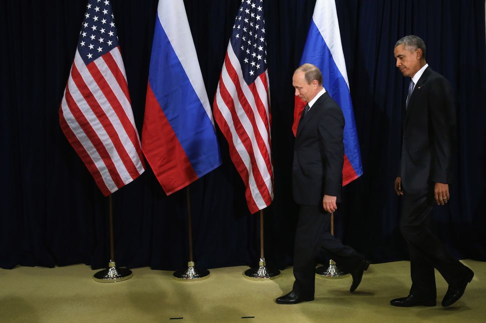 Obama and Desperate Dems Keep Singing the Cold War Blues