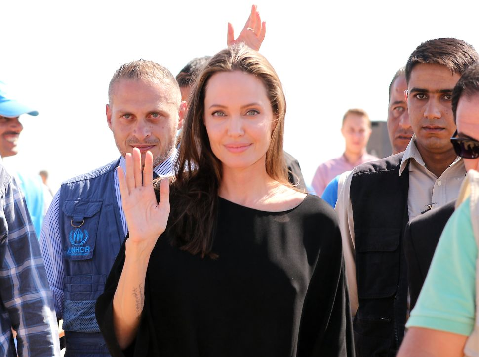 Angelina Jolie Has Turned a Fragrance Campaign Into a Charitable Cause