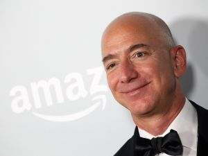 It was a good day for Jeff Bezos.