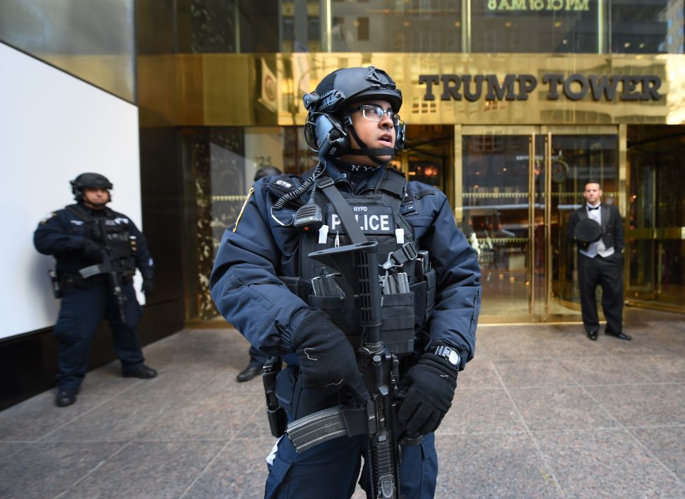 NYPD Commissioner Warns Trump Tower Security Costing City More Than $150K Per Day