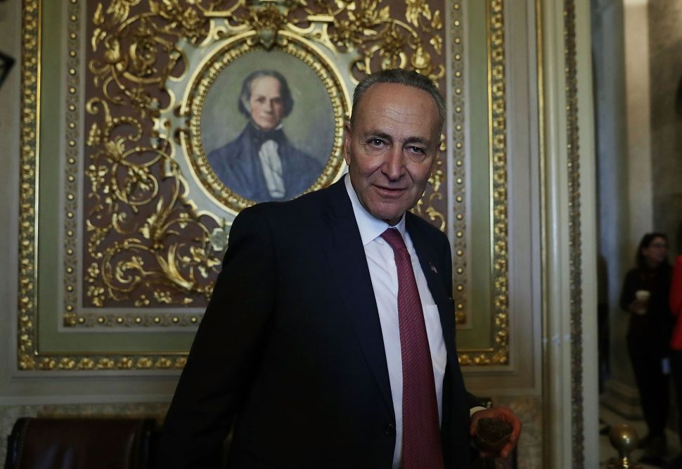 Senate Minority Leader Chuck Schumer Weaseled His Way Into a Job He Can't Handle