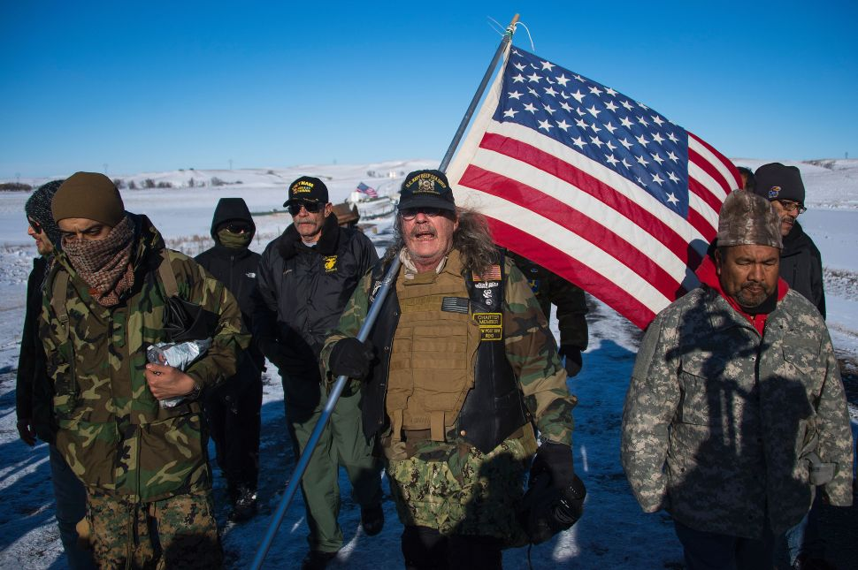 Green Partiers Call Standing Rock Pipeline Fight 'The Issue of Our Time'