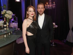 Emma Stone and Ryan Gosling.
