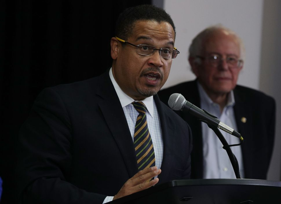 How the Center-Left Is Sucking Keith Ellison Away From Progressives
