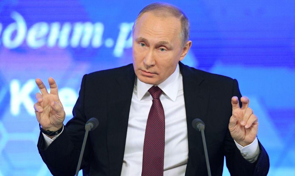 Putin: People Who Ordered Anti-Trump Kompromat Are 'Worse Than Prostitutes'