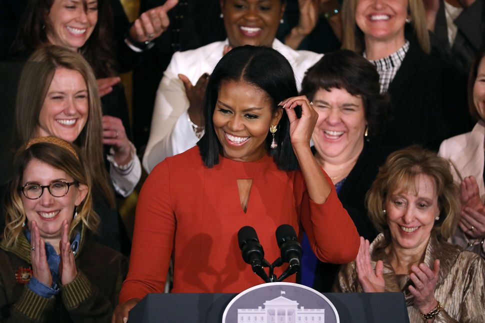 Michelle Obama Offers Hope to Young People in Emotional Final Speech