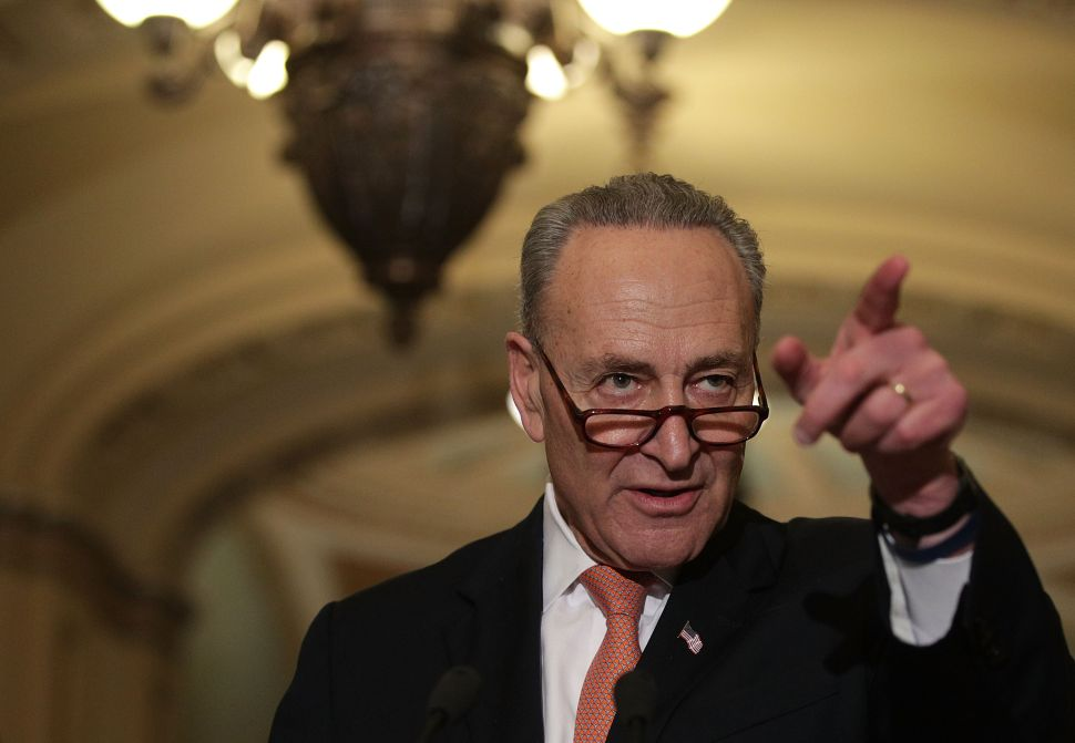 Schumer Vows to Stop Trump's 'Appalling' Plan for the Border