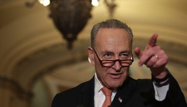 Senate Minority Leader Charles Schumer.