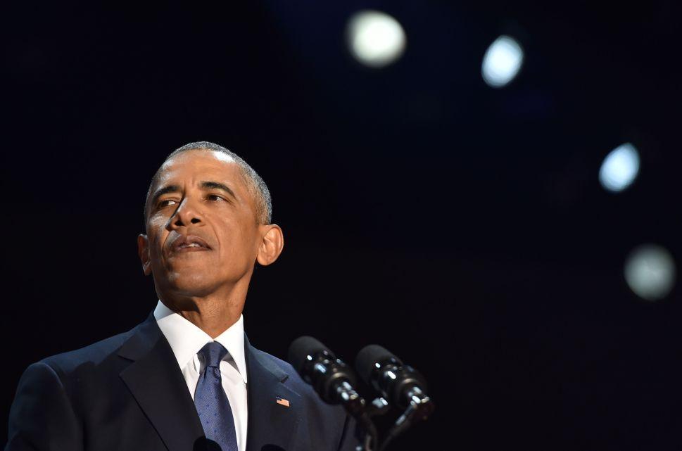 Barack Obama's Trail of Tears