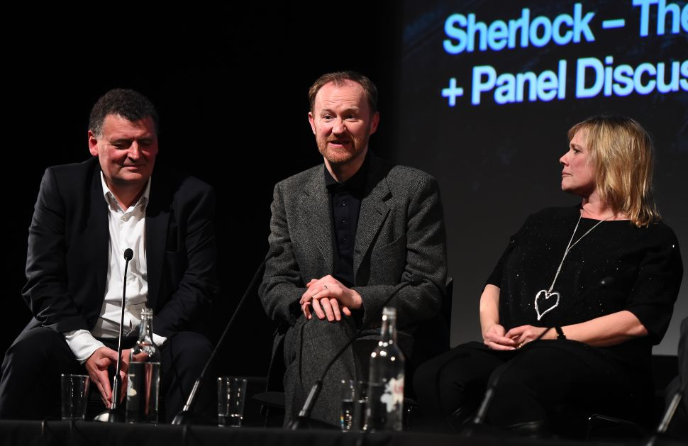 Steven Moffat Reveals the 'Absolute, Ultimate Boss' Behind 'Sherlock'