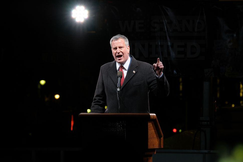 Bill De Blasio's Burgeoning Legal Bills Shouldn't Burden NYC Taxpayers