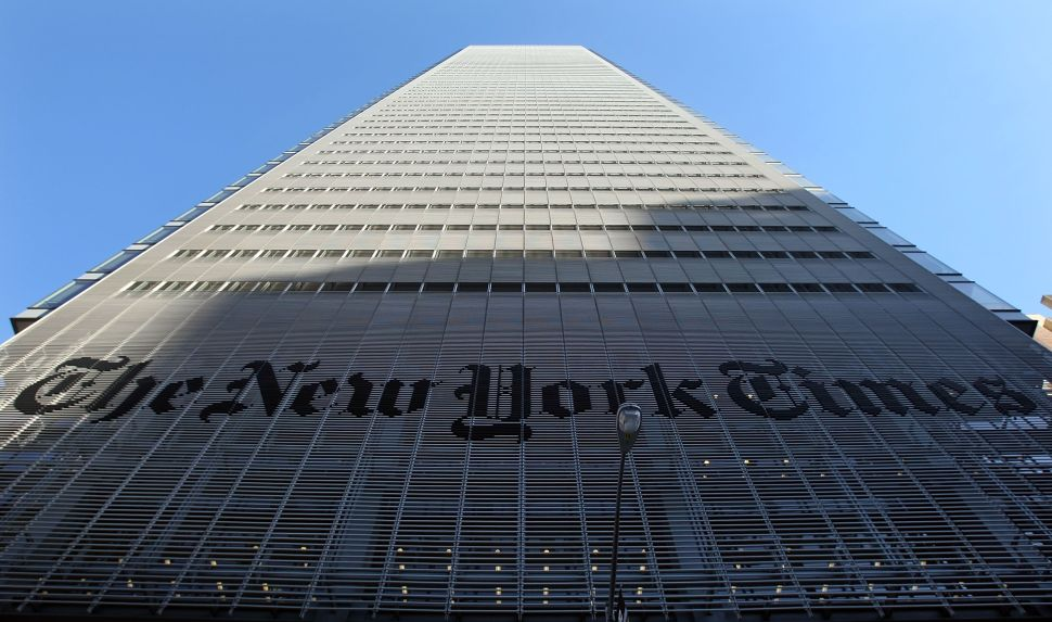The New York Times Needs to Drain Its Ears