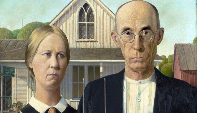 American Gothic.