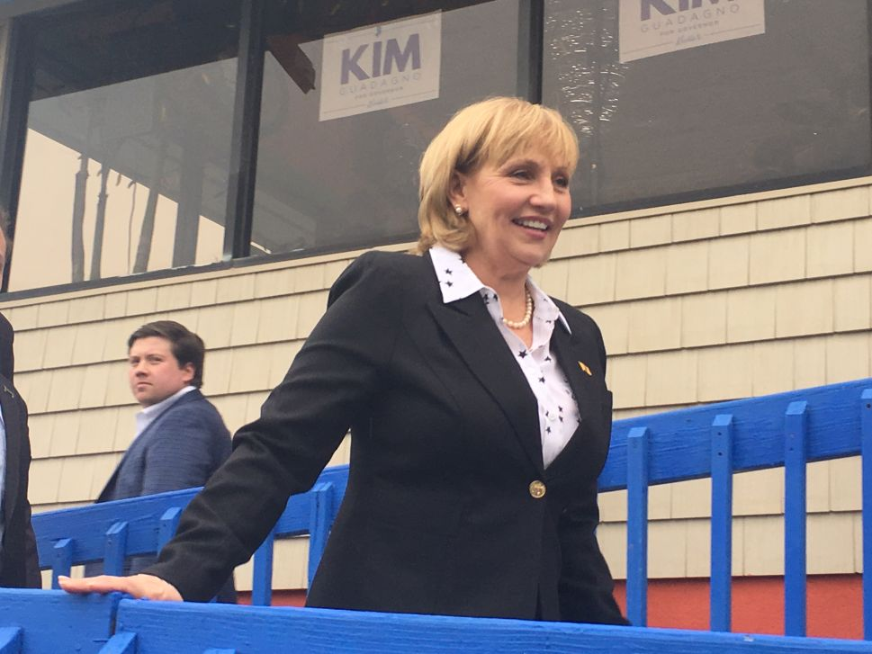 Guadagno Breaks With Christie Again, This Time on Horizon