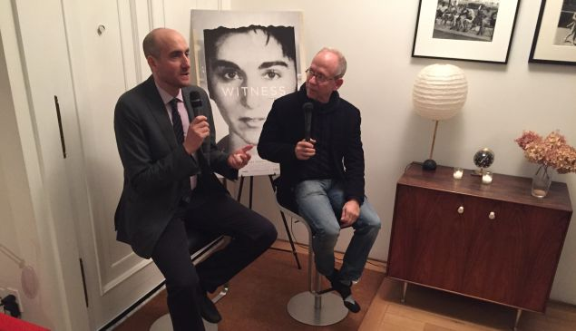 James Solomon, director of 'The Witness' is interviewed by actor Bob Balaban about the Kitty Genovese documentary.
