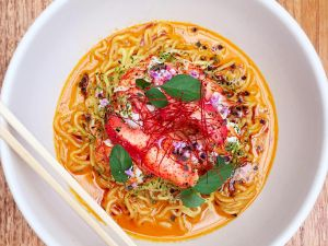 Three words: butter lobster ramen.