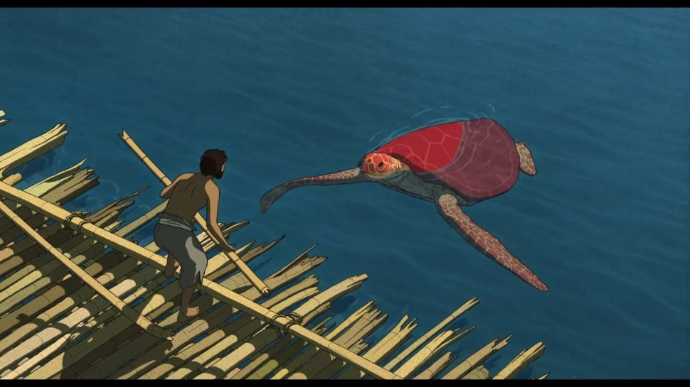 Hypnotically Animated, 'The Red Turtle' Paddles Toward Oscar