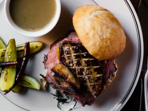 "The ""Royale"" French Dip."