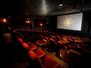 The Nitehawk Cinema theater in Williamsburg, Brooklyn.