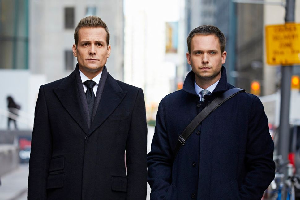 'Suits' Star on 'Weird Acting,' 'Cloudy Skies' and Inspiring Rami Malek