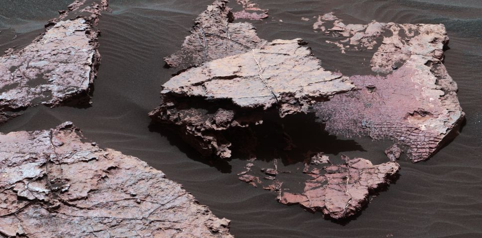 NASA's Mars Rover Discovered Some Mud Cracks That Could Be Really, Really Important