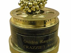 A Golden Raspberry award.