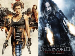 Resident Underworld: The Final Blood Wars.