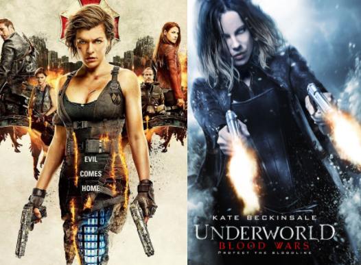 Imagined Dialogue For: 'Underworld', or Maybe 'Resident Evil'