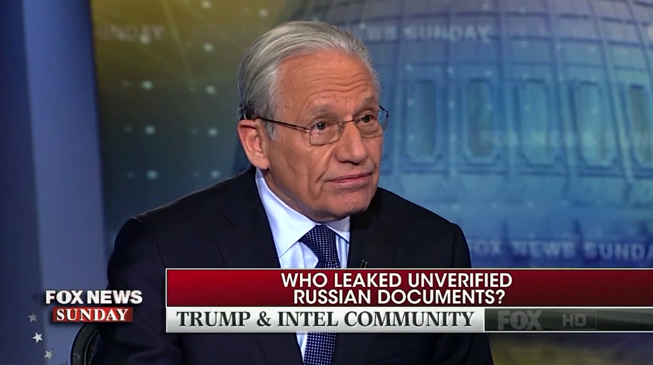 WaPo's Always Opportunistic Bob Woodward Takes Trump's Side