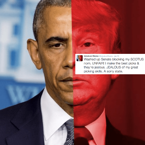 This Parody Twitter Hilariously Translates Obama's Real Tweets Into Trump-Speak