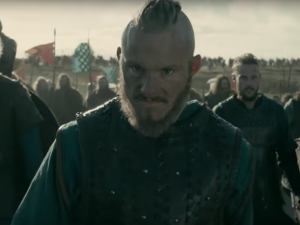 Vikings on the History Channel.