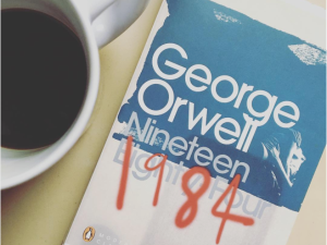 The Trump era is being compared to George Orwell's famous dystopian novel.
