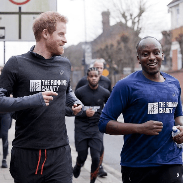 Prince Harry Embraces Athleisure With Spandex Leggings