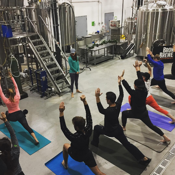 The Bronx Brewery Is Offering 'Brew You Yoga'