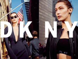 Bella Hadid for DKNY.