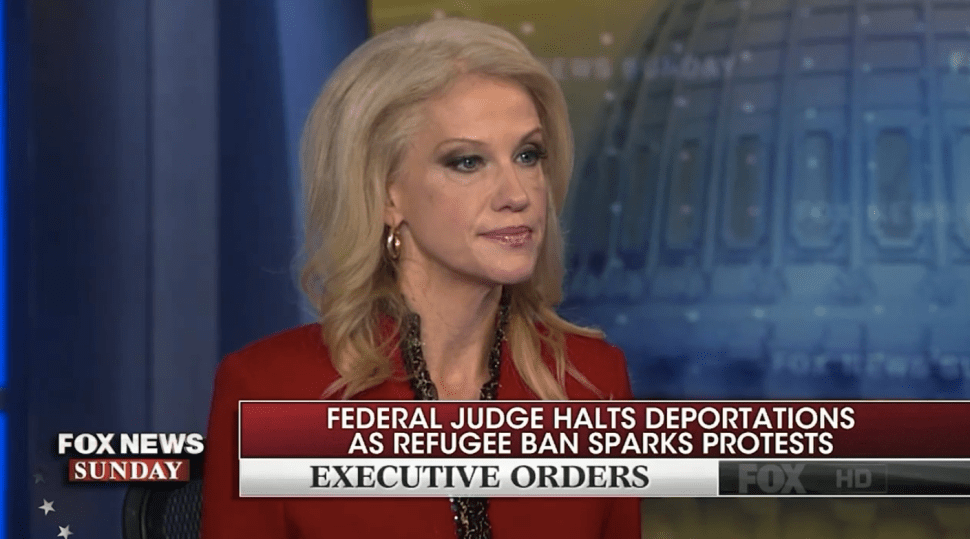 Kellyanne Conway: Inconvenience to Muslims Is a 'Small Price to Pay'