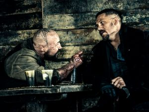 "TABOO -- ""Episode 2"" (Airs Tuesday, January 17, 10:00 pm/ep) -- Pictured: (l-r) Stephen Graham as Atticus, Tom Hardy as James Keziah Delaney."