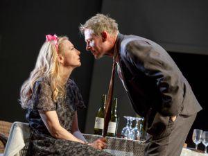 Cate Blanchett as Anna Petrovna and Richard Roxburgh as Mikhail Platonov.