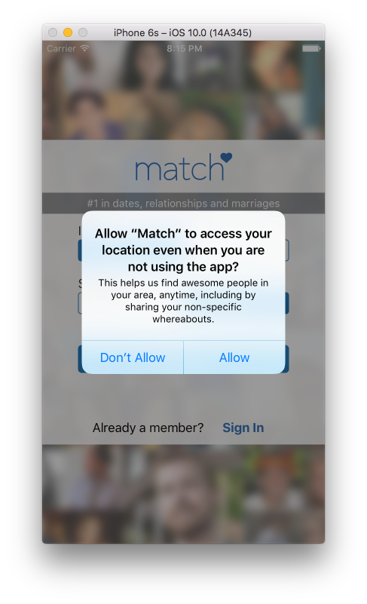 Match Introduces 'Missed Connections' Using GPS Technology