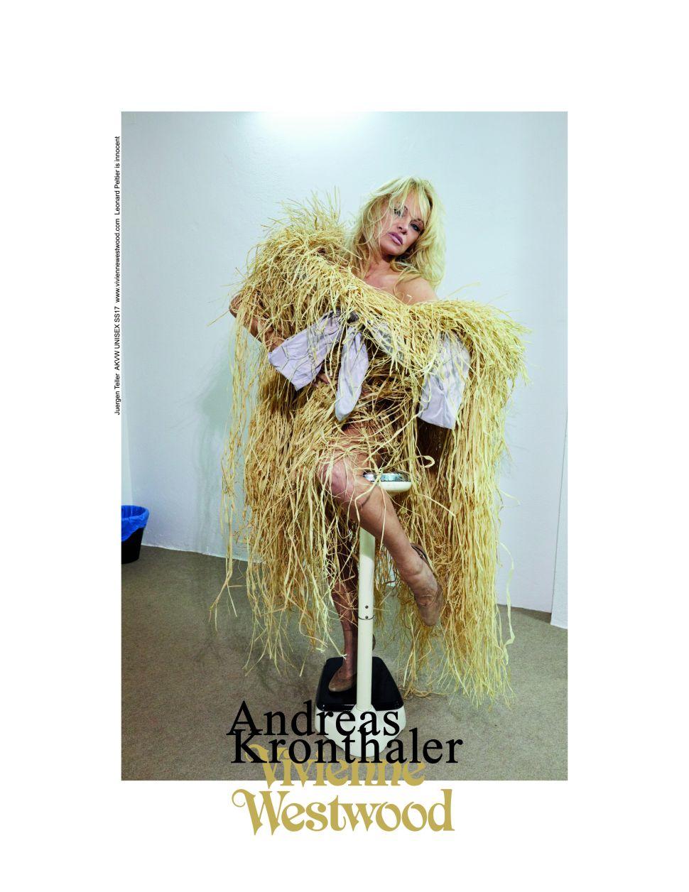 Pamela Anderson Models for Vivienne Westwood; BCBG Faces Trouble